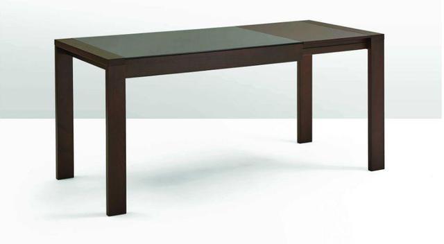 Стол обеденный раздвижной Рейн TGE-6601BBH 1345(1785)х900х750 орех темный