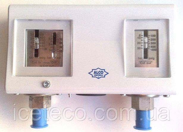Двухблочное реле давления Alco Controls PS2-L7A (4351100)