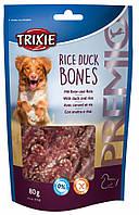 Лакомство Trixie Premio Rice Duck Bones для собак с уткой и рисом, 80 г