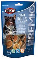 Лакомство Trixie Premio Sushi Rolls для собак с белой рыбой, 100 г