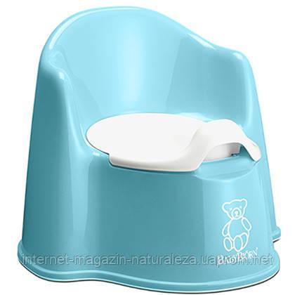 Детский кресло-горшок BabyBjorn голубой, фото 2