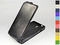 Откидной чехол из натуральной кожи для Huawei Ascend G700