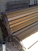 Боковина для скамейки садово-парковой  с декоративным литьем Березань