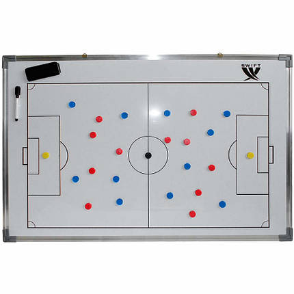 Доска тактическая SWIFT Football coach board 90 x 60 cm, фото 2