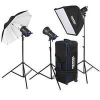 Комплект студийного света Hensel Integra Mini Kit 900 (7338370)