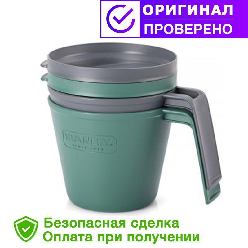 Кружка STANLEY Adventure eCycle® (Синяя, Зеленая) 0,47 L (ST-10-01615-003)