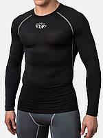 Компрессионная футболка Peresvit Air Motion Long Sleeve T-Shirt Black