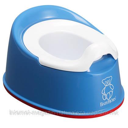 Горшок BabyBjorn Smart синий, фото 2