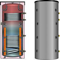 Буферная емкость для отопления Meibes SPSX-2G 500 (с двумя гладкотрубными теплообменниками)