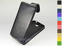 Откидной чехол из натуральной кожи для Huawei Y5 II