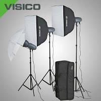 Набор студийного света Visico VL-300 Plus x3