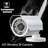 Беспроводная водостойкая WiFi IP камера с детектором движения