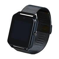 Умные часы телефон Smart Watch Z60 черный c SIM картой