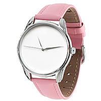 """Часы наручные """"Минимализм"""" розовый"""