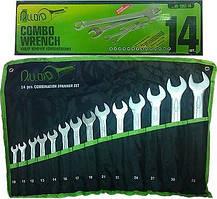 Набор ключей комбинированных Alloid НК-2061-14 (10-32 мм, 14 предметов)