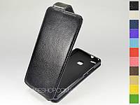 Откидной чехол из натуральной кожи для Huawei P9 lite