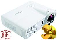 Optoma W303ST короткофокусный 3D видео проектор яркость 3000 ANSI
