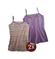 Майка для девочки, ( 2 шт. в упаковке), размеры 158/164, Lupilu, арт. Л-366