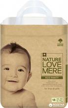Підгузки-трусики NatureLoveMere, Eco, розмір XХL (13-17кг), 18шт