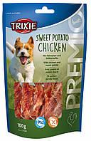 Лакомство Trixie Premio Sweet Potato Chicken для собак с курицей и картофелем, 100 г