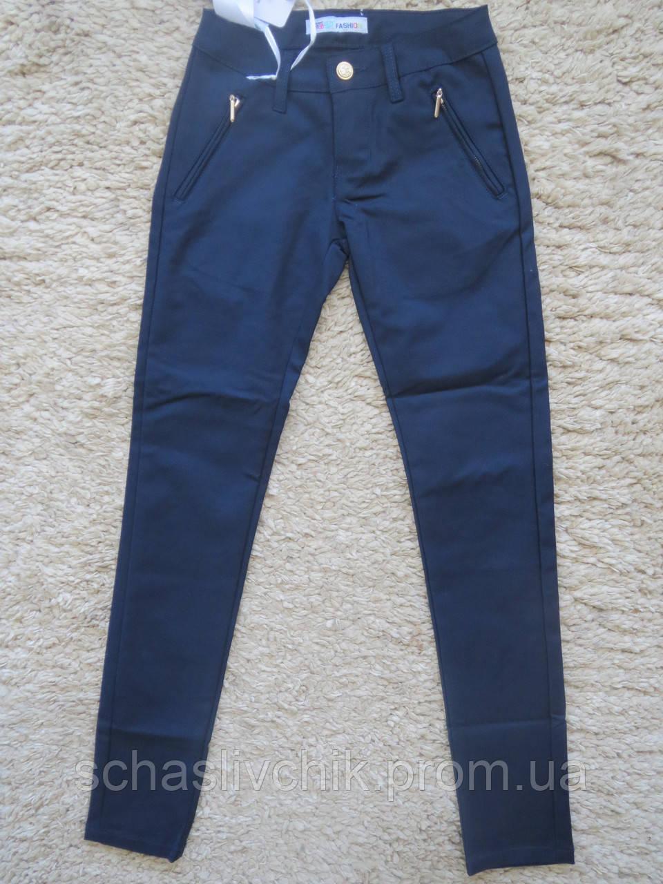 Котоновые брюки для  девочек подростков,ШКОЛА.Размеры 6-16 Фирма F&D, Венгрия