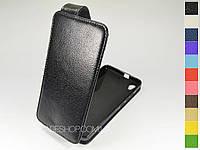 Откидной чехол из натуральной кожи для Huawei G620S