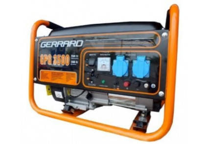 Генератор бензиновый Gerrard GPG3500E  (2,8кВт), фото 2