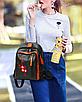 Рюкзак женский кожзам с заклепками Sakura, фото 2