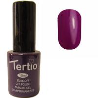Гель-лак Tertio №079 Темно-фиолетовый с синим микроблеском 10 мл