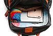 Рюкзак женский кожзам с заклепками Sakura, фото 9