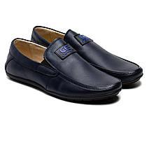 Школьные туфли для мальчика Olipas, синие, размер 32-37