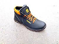 Зимние кожаные мужские ботинки Timberlend НОВАЯ МОДЕЛЬ