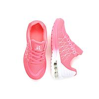 Женские модные розовые кроссовки текстиль польша Rapter B799-23