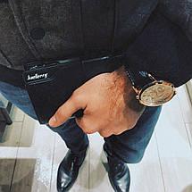 Мужское элитное портмоне Baellery Bussines, кожаный клатч, бизнес портмоне, Италия!, фото 3