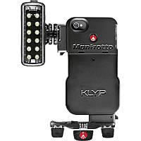 Чехол с осветителем + настольный штатив Manfrotto Klyp Case + ML120 + Pocket (MKPL120KLYP0)