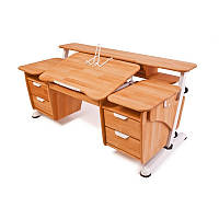"""Детский письменный стол """"Эргономик"""" с двумя тумбами"""