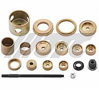 Набор инструментов для демонтажа/монтажа сайлентблоков нижнего рычага VAG (11 предметов) JTC 4474