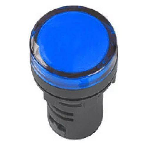 Лампа AD16DS(LED)матрица d16мм синий 12В AC/DC ИЭК