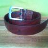 Ремень из кожи ручной работы (в деревянной коробке с логотипом)