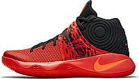 """Баскетбольные кроссовки Nike Kyrie 2 Inferno """"Bright Crimson/Atomic Orange/Black"""" (найк инферно) красные"""