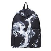 Черный рюкзак Дым
