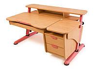 """Детский письменный стол """"Эргономик с тумбой"""" с эргономичным дизайном"""