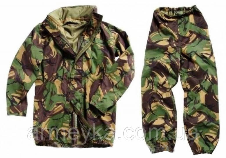 Мембранный комплект Gore-tex DPM (куртка+штаны).  Великобритания оригинал