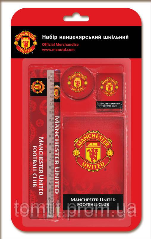 """Набор канцелярии """"Manchester United"""", 5 предметов"""