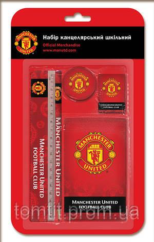 """Набор канцелярии """"Manchester United"""", 5 предметов, фото 2"""