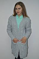 Кардиган модный с шерсти и ангоры Италия, фото 1