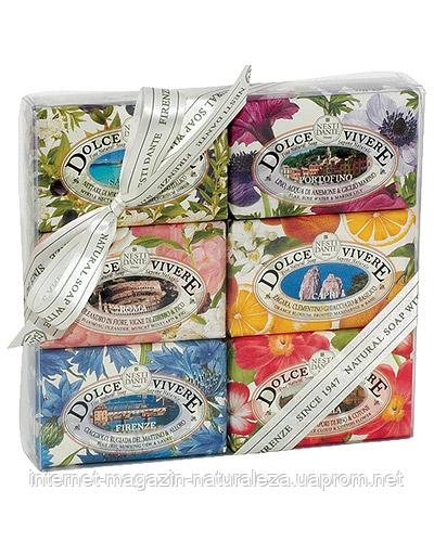 Nesti Dante Подарочный набор мыла Nesti Dante Сладкая Жизнь 6 шт х 150 г