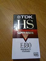 Видеокассета tdk hs e-180. Новые. В лоте 1 штука!