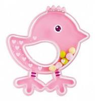 Погремушка Птичка, розовая, Canpol babies (2/189-2)