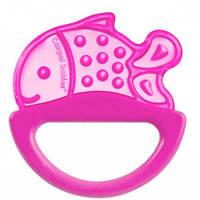 Погремушка-зубогрызка рыбка (розовая), Canpol babies (13/107-10)
